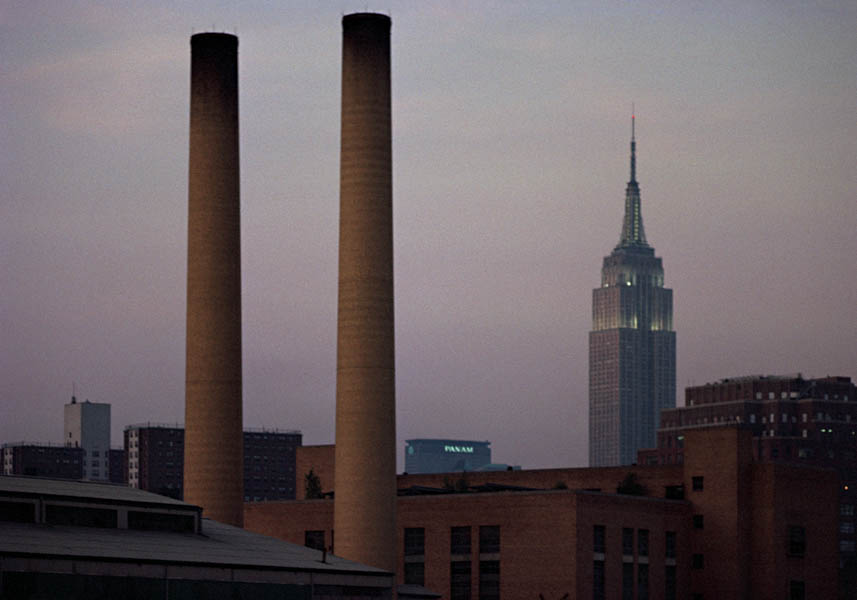 Empire State and the old PanAm Building